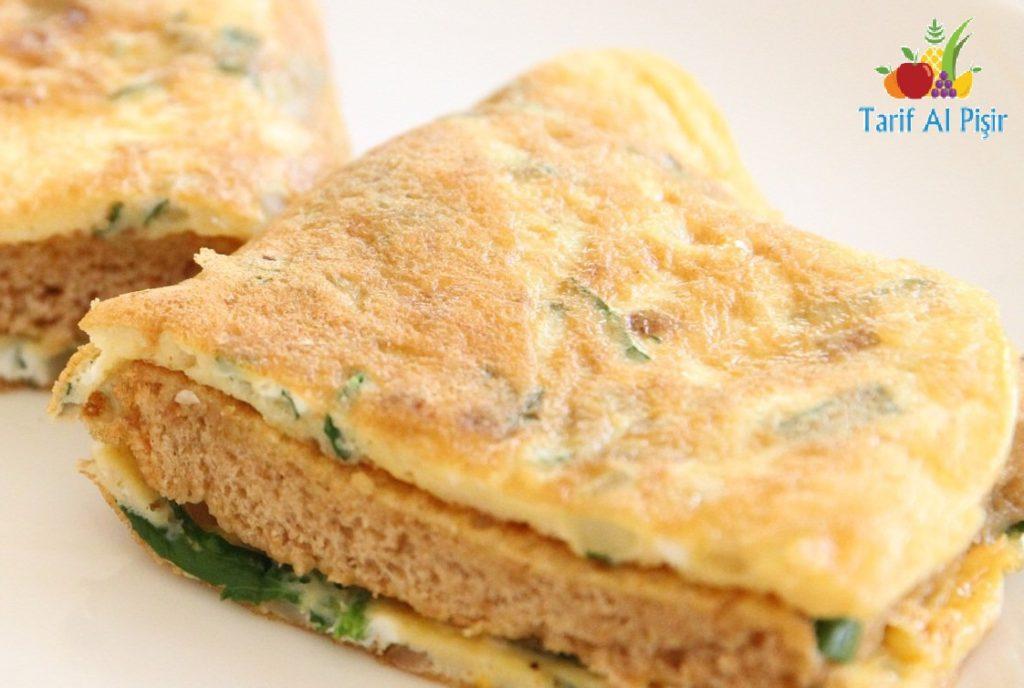Ekmekli Omlet Nasıl Yapılır?